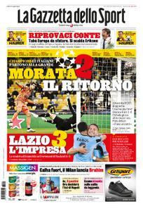 La Gazzetta dello Sport Roma – 21 ottobre 2020