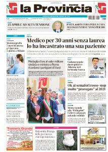 La Provincia Pavese - 25 Aprile 2019