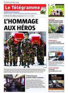 Le Télégramme Concarneau – 15 mai 2019