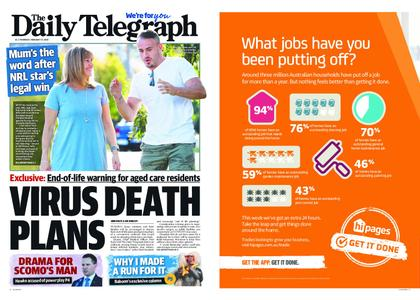 The Daily Telegraph (Sydney) – February 27, 2020