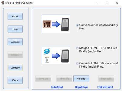 ePub to Kindle Converter 2.0.4