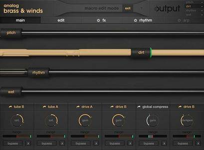 Output Analog Brass and Winds v1.0.1 KONTAKT