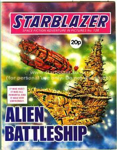 Starblazer 126 - Alien Battleship (1984) (PDFrip