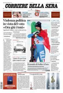 Corriere della Sera - 22 Febbraio 2018