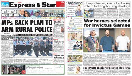 Express and Star City Edition – May 19, 2018