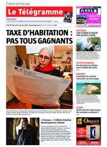 Le Télégramme Concarneau – 13 novembre 2019