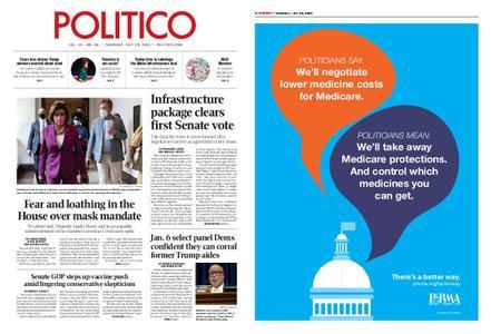 Politico – July 29, 2021