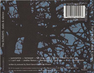 The Sundays Static Amp Silence 1997 Repost Avaxhome