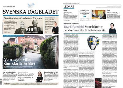 Svenska Dagbladet – 25 februari 2018