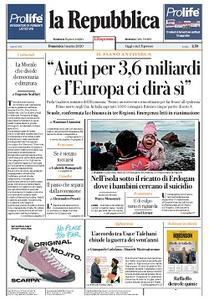 la Repubblica - 1 Marzo 2020