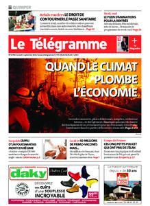 Le Télégramme Quimper – 04 septembre 2021