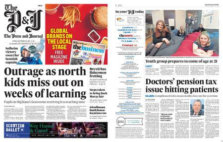 The Press and Journal Moray – September 16, 2019