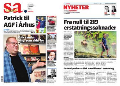 Sarpsborg Arbeiderblad – 12. januar 2019