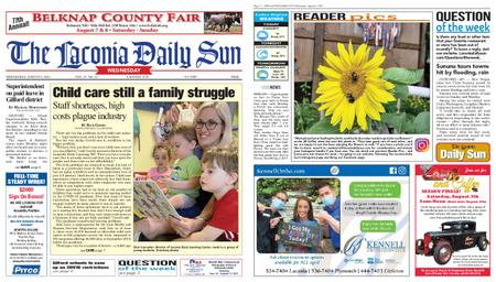 The Laconia Daily Sun – August 04, 2021