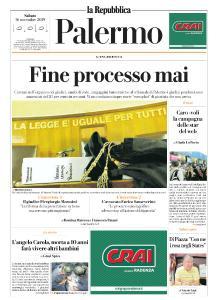 la Repubblica Palermo - 16 Novembre 2019