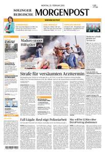 Solinger Morgenpost – 25. Februar 2019