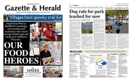 Gazette & Herald – October 29, 2020
