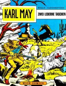 Karl May Wick 34 - Zwei lederne Taschen