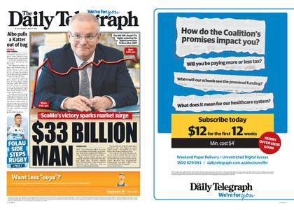 The Daily Telegraph (Sydney) – May 21, 2019