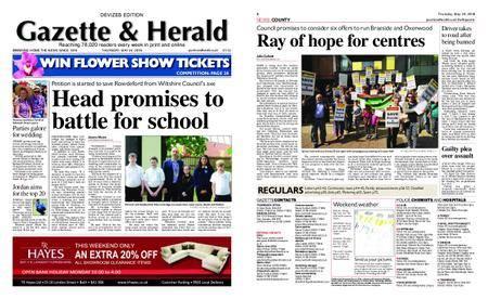 Gazette & Herald – May 24, 2018