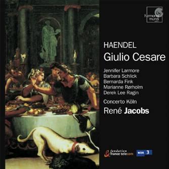 G.F. Händel - Giulio Cesare - René Jacobs & Concerto Köln (HM 1991)