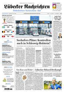 Lübecker Nachrichten Ostholstein Süd - 19. Juni 2018