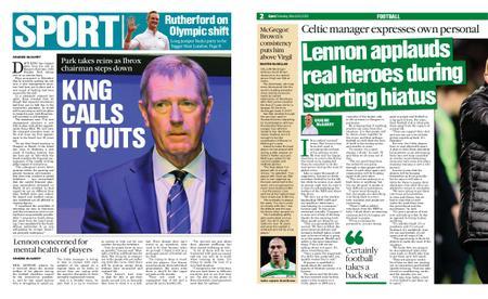 The Herald Sport (Scotland) – March 28, 2020
