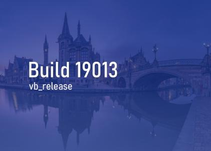 Windows 10 Insider Preview (20H1) Build 19013.1