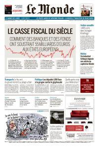 Le Monde du Vendredi 19 Octobre 2018
