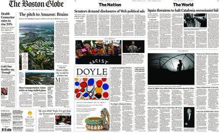 The Boston Globe – October 20, 2017