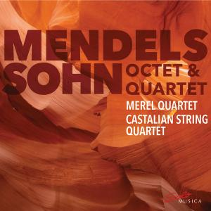 Merel Quartet, Castalian String Quartet - Mendelssohn: String Quartet No. 1 (2019) [Official Digital Download 24/96]