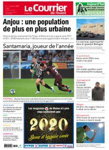 Le Courrier de l'Ouest Cholet – 31 décembre 2019