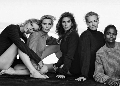 In Love With by Peter Lindbergh for Vogue Italia September 2015