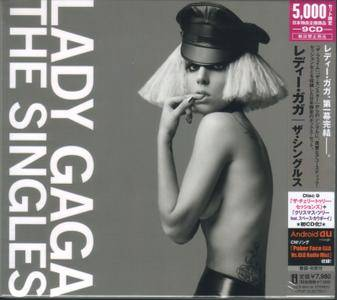 Lady GaGa: The Singles (2010) [Japan-only 9CD Box, Limited Edition]