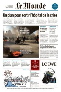 Le Monde du Jeudi 21 Novembre 2019