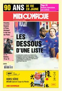 Midi Olympique Rouge - 2 Septembre 2019