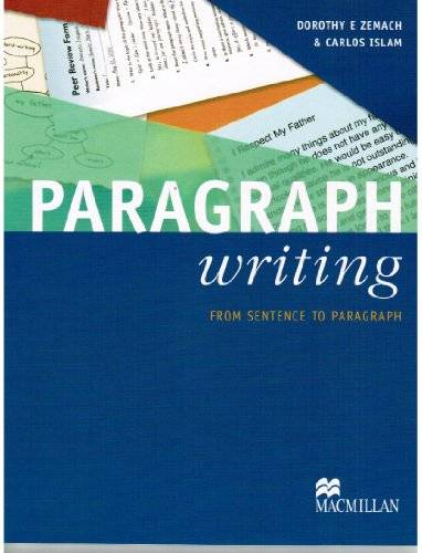 Paragraph Writing: From Sentence to Paragraph (Repost)