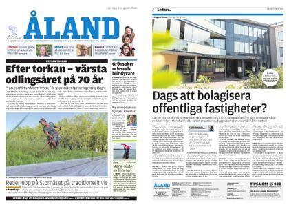 Ålandstidningen – 04 augusti 2018
