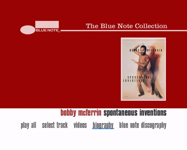 Bobby McFerrin - Spontaneous Inventions (2005)