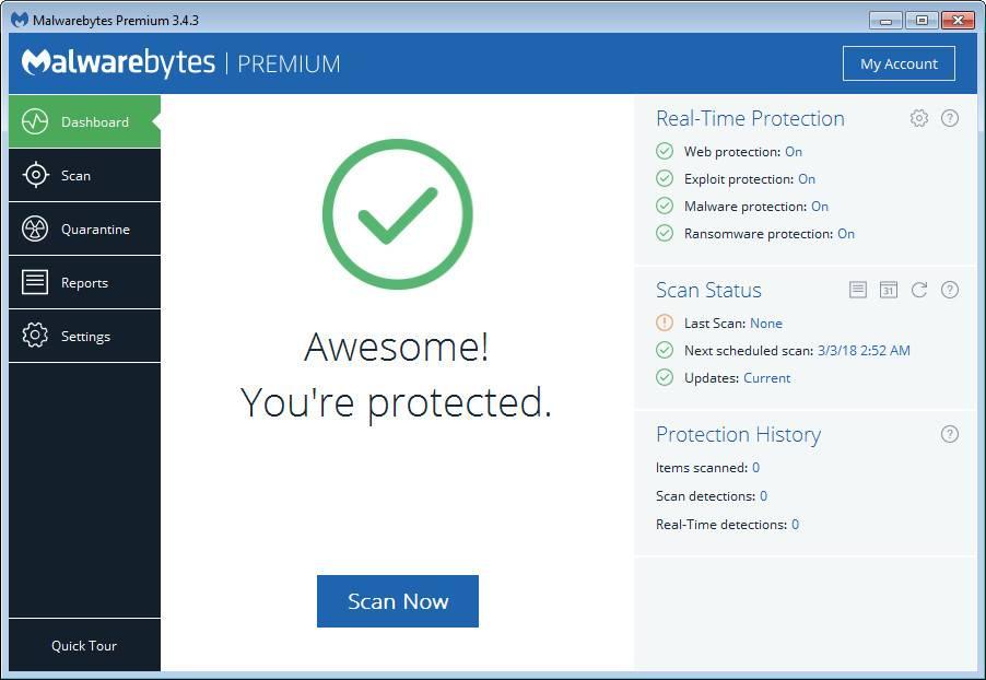 Malwarebytes Premium 3.4.4.2398 Multilingual