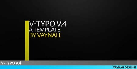 Videohive V-Typo V.4 HD Typography - After Effects Project