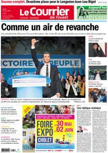 Le Courrier de l'Ouest Cholet – 27 mai 2019