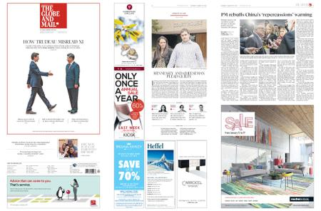The Globe and Mail – January 19, 2019