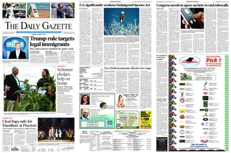 The Daily Gazette – August 13, 2019