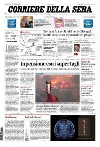 Corriere della Sera – 13 novembre 2018