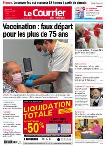 Le Courrier de l'Ouest Saumur – 15 janvier 2021