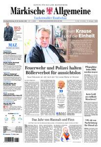 Märkische Allgemeine Luckenwalder Rundschau - 29. Dezember 2018