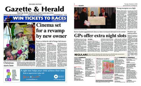 Gazette & Herald – December 06, 2018