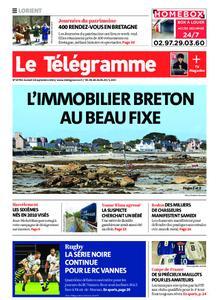 Le Télégramme Lorient – 18 septembre 2021