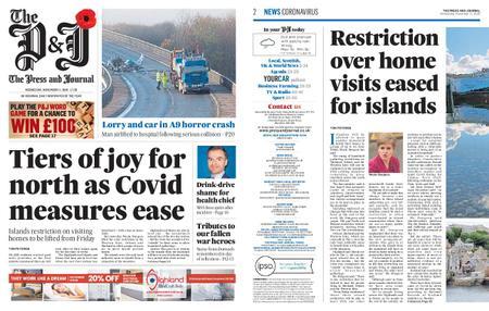 The Press and Journal Moray – November 11, 2020